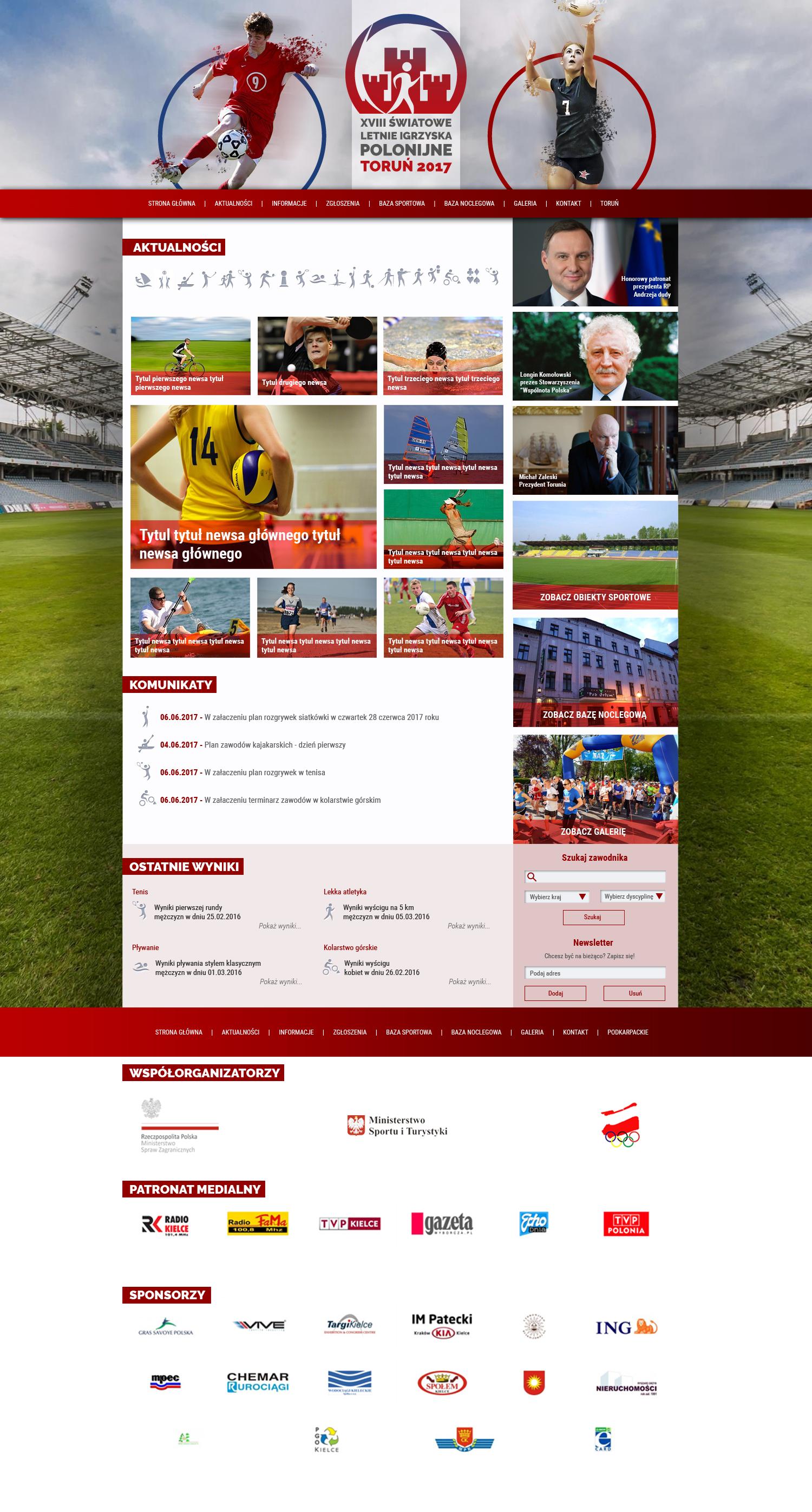 Letnie Igrzyska Polonijne 2016