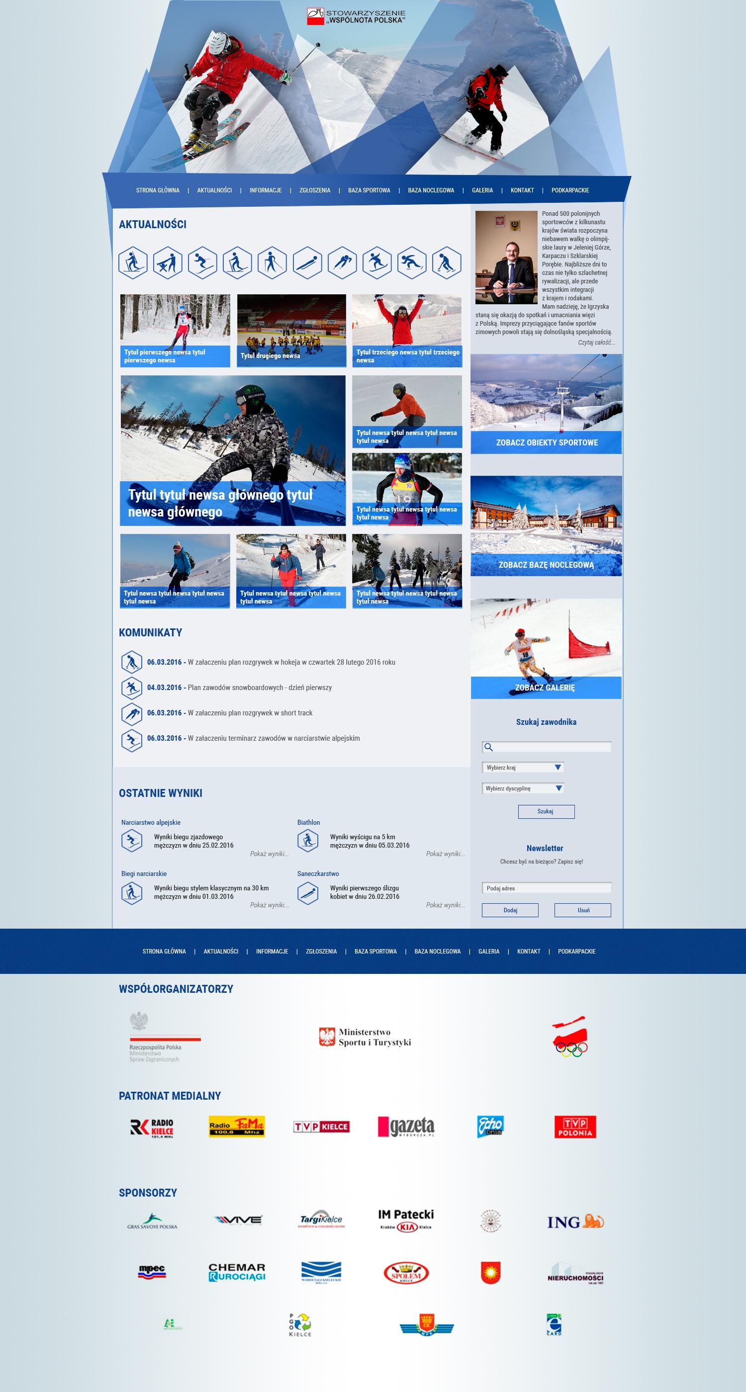 Zimowe Igrzyska Polonijne 2015