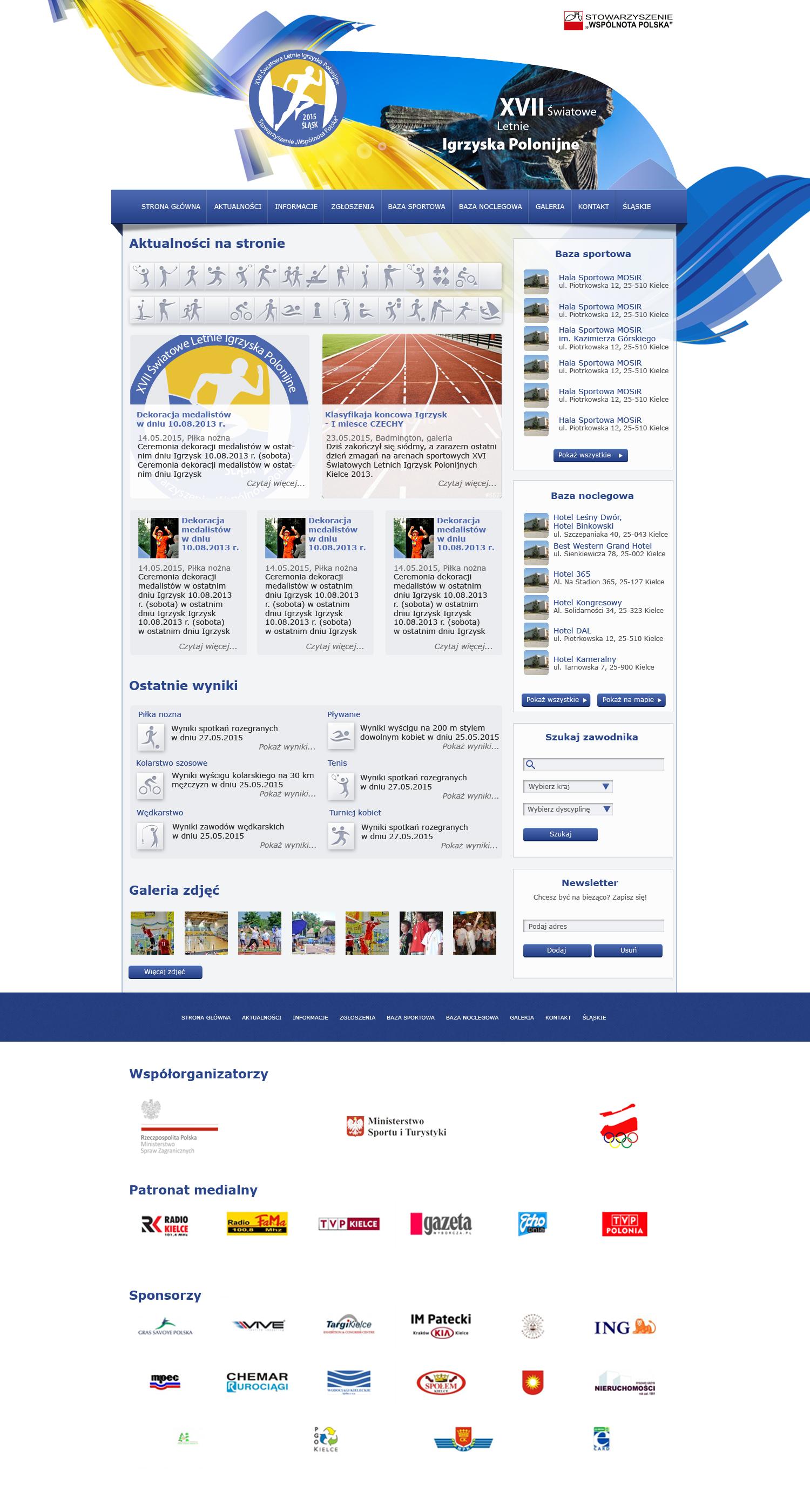 Letnie Igrzyska Polonijne 2015