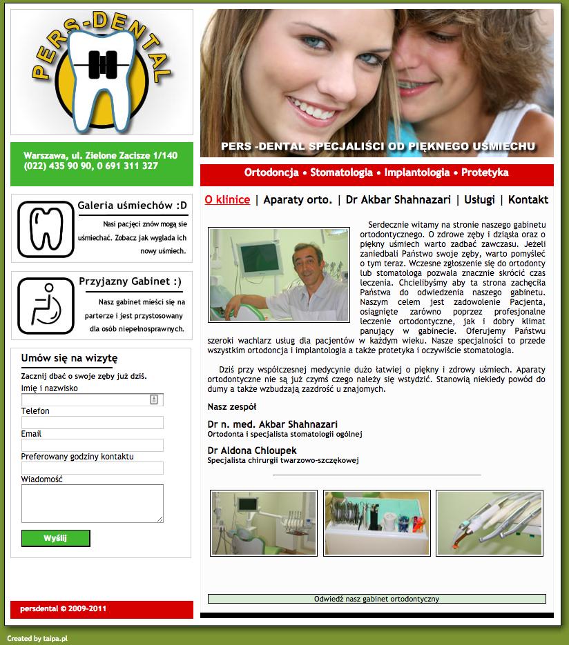 Gabinet ortodontyczny Pers-dental
